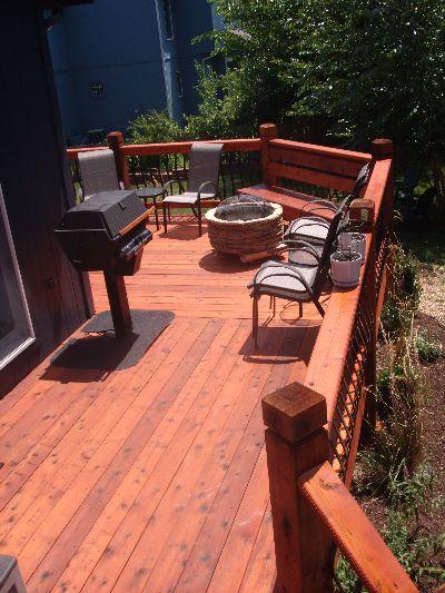 composite deck composite deck too hot On deck gets too hot